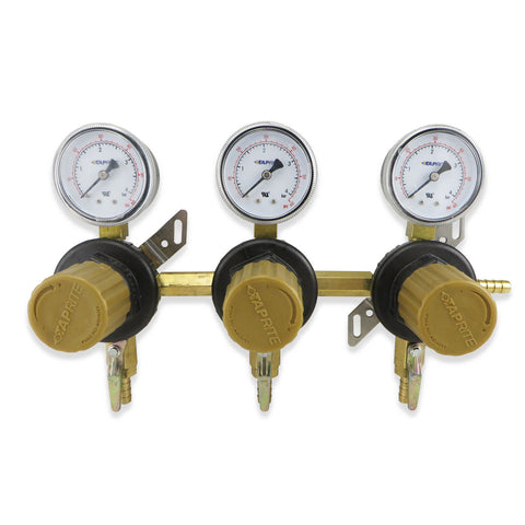 Triple Product Secondary CO2 Regulator (60PSI) #T1683ST