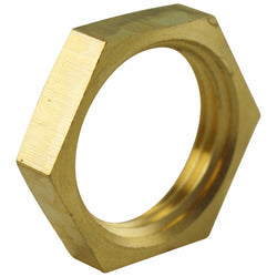 Taprite Brass Beer Tower Lock Nut - #D8