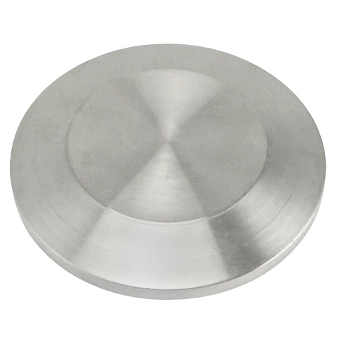 "Stainless Steel Tri-Clover End Cap - 1.5"" TC"