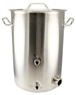 10 Gallon Stainless Steel TC Heating Element Kettle - Tri-Clad Induction Ready - Canadian Homebrewing Supplier - Free Shipping - Canuck Homebrew Supply