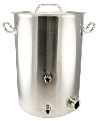 7.5 Gallon Stainless Steel TC Heating Element Kettle - Tri-Clad Induction Ready - Canadian Homebrewing Supplier - Free Shipping - Canuck Homebrew Supply