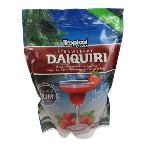 Tropical Choice Strawberry Daquiri Mix - 1.42L