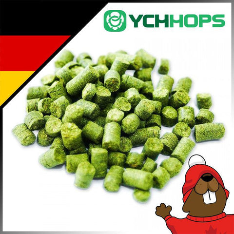 German Hersbrucker Hop Pellets - 1oz