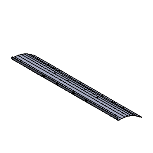 #1 - Snow plow mouldboard 10' x 36""