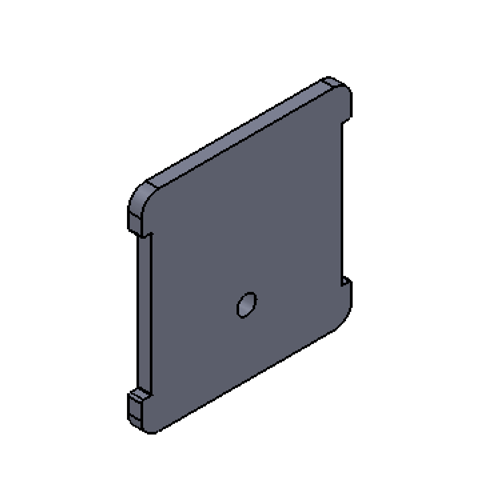 #15 - Square cap end