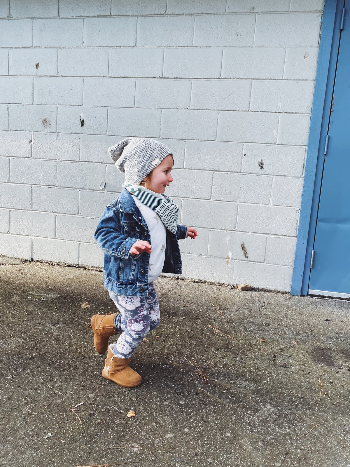 kids organic toque