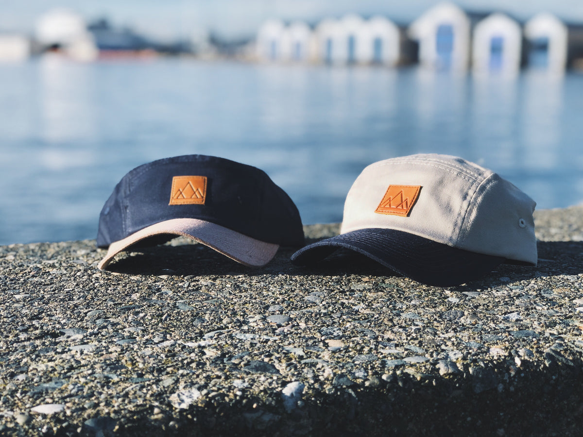 Upcycled Adventure 5-Panel Hat (2 colours)