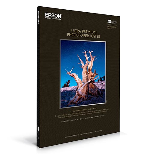 Epson Ultra Premium Photo Paper Luster