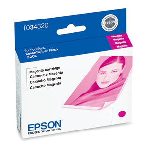 Epson Stylus Photo 2200 Magenta Ink Cartridge - T034320