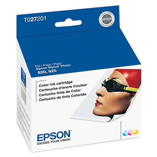 Epson Stylus Photo 820 Color Ink Cartridge - T027201