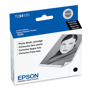 Epson Stylus Photo 2200 Photo Black Ink Cartridge - T034120