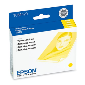 Epson Stylus Photo 2200 Yellow Ink Cartridge - T034420