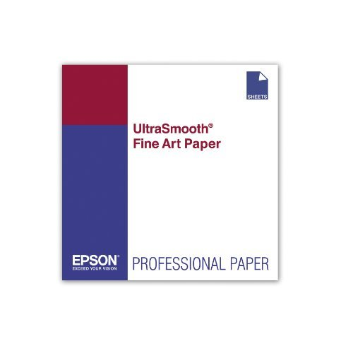 "Epson UltraSmooth Fine Art Paper - 60""x50' Roll"