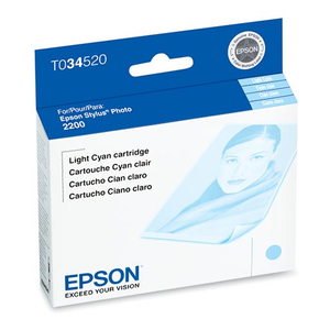 Epson Stylus Photo 2200 Light Cyan Ink Cartridge - T034520
