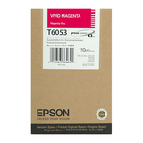 Epson Vivid Magenta Ultrachrome K3 Ink Cartridge - 110 ml - T605300