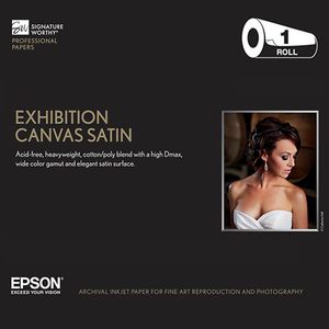 Epson Exhibition Canvas Satin