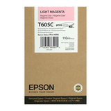 Epson Light Magenta Ultrachrome K3 Ink Cartridge - 110 ml - T605C00