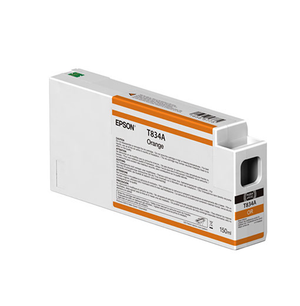 Epson Orange UltraChrome HDX Ink Cartridge - 150 ml - T834A00
