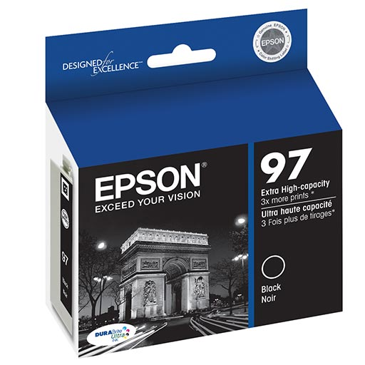 Extra High Capacity Black Ink Cartridge - T097120