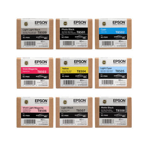 Ink Set for Epson P800 printer