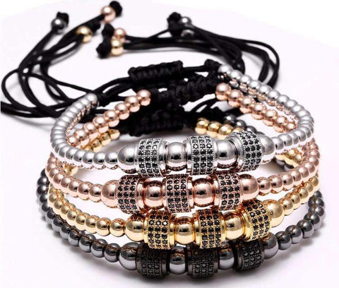 Accessories - Titanium Steel Beads Bracelet NOX
