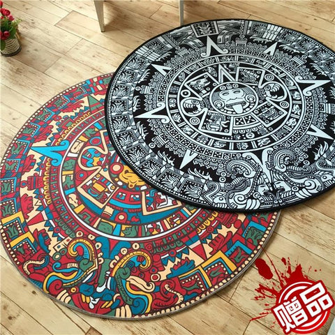 Home Decor - THE MAYA TOTEM CARPET