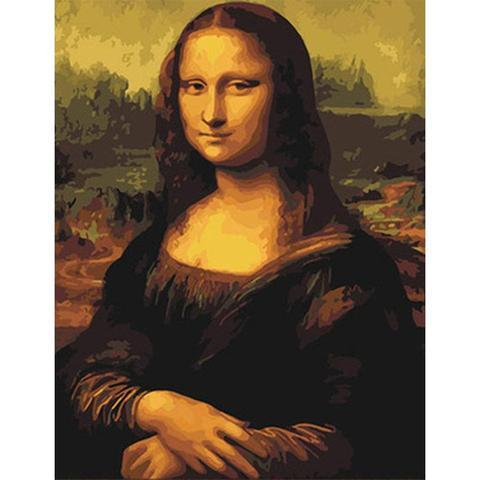 Paint By Number - Mona Lisa - 123Art™ - Paint By Number Kit