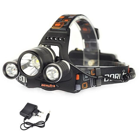 Tech - 4 MODES RECHARGABLE HEADLAMP