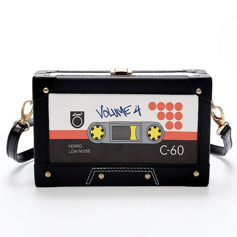 Wallet Purses - Cassette Shoulder Bag