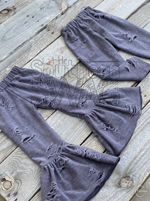 Distressed Charcoal