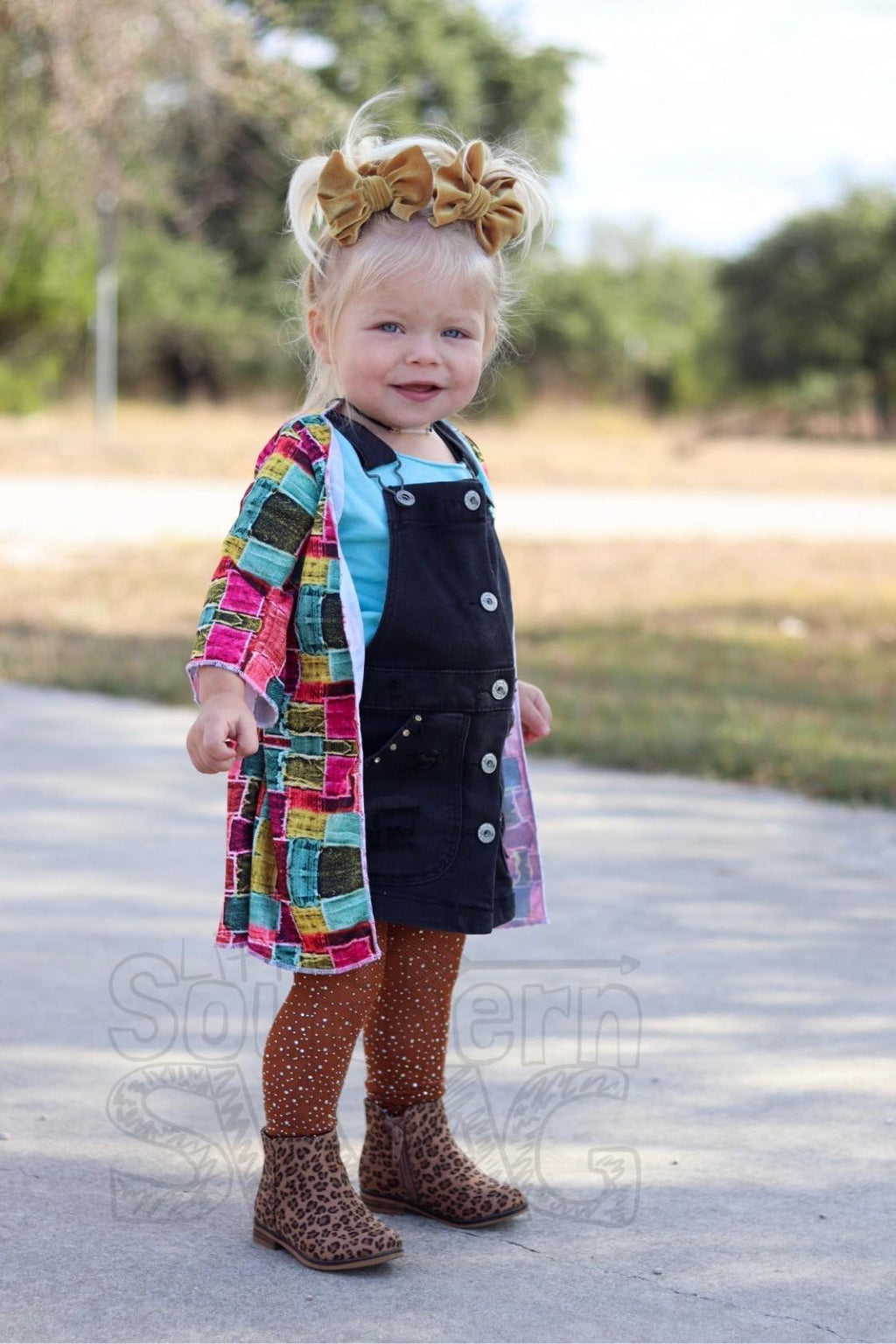 Coat of Many Colors Duster - Little Southern Swag