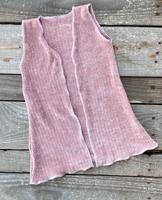 Sandy Pink Chenille Duster - Little Southern Swag