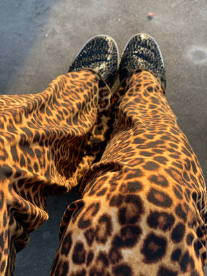 Mommy Leopard Palazzos - Little Southern Swag