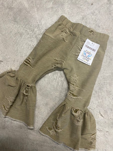 RTS OLIVE DISTRESSED BELLS
