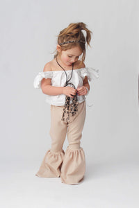 Khaki Basic Bells - Little Southern Swag