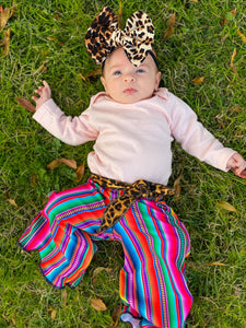 Belted Serape Wild Palazzos - Little Southern Swag