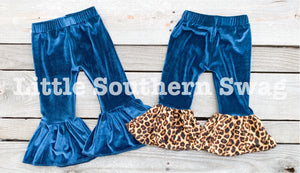 Teal Velour - Little Southern Swag