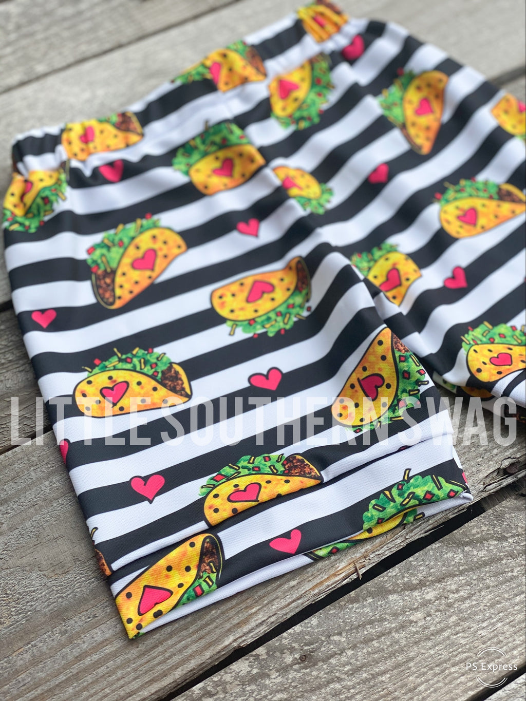 🌮Taco Tuesday Boy Shorts - Little Southern Swag