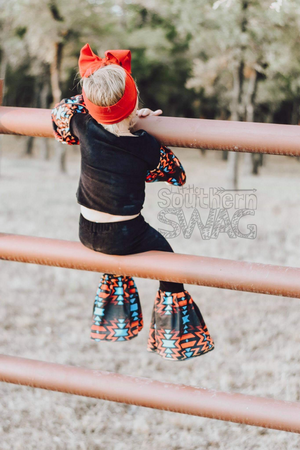 San Angelo Bellbottom Pants - Little Southern Swag