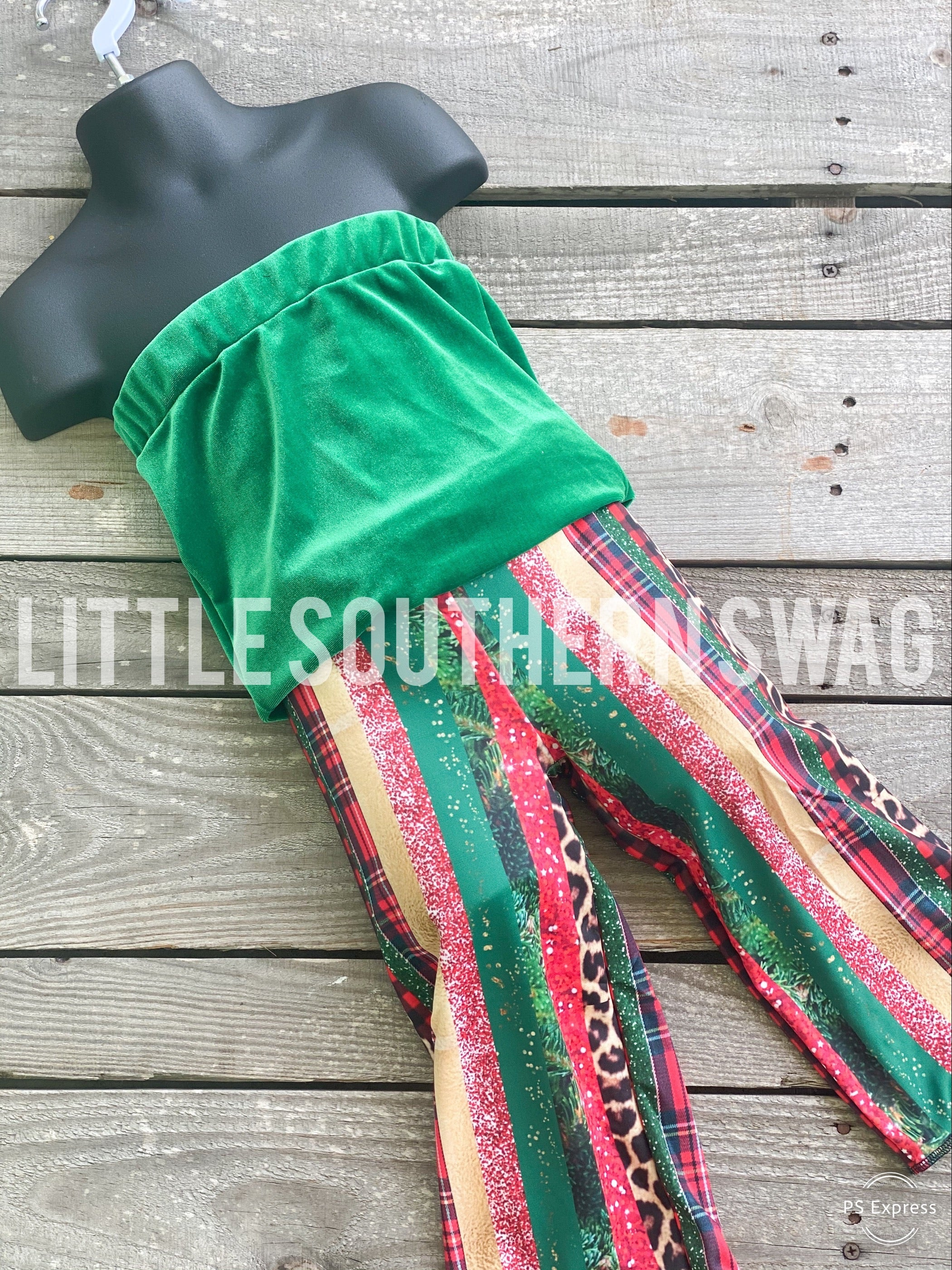 Wild About Christmas Cinch Romper