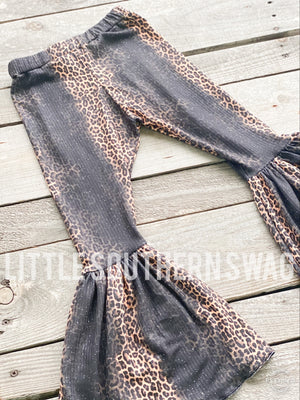 Ribbed Faded Leopard