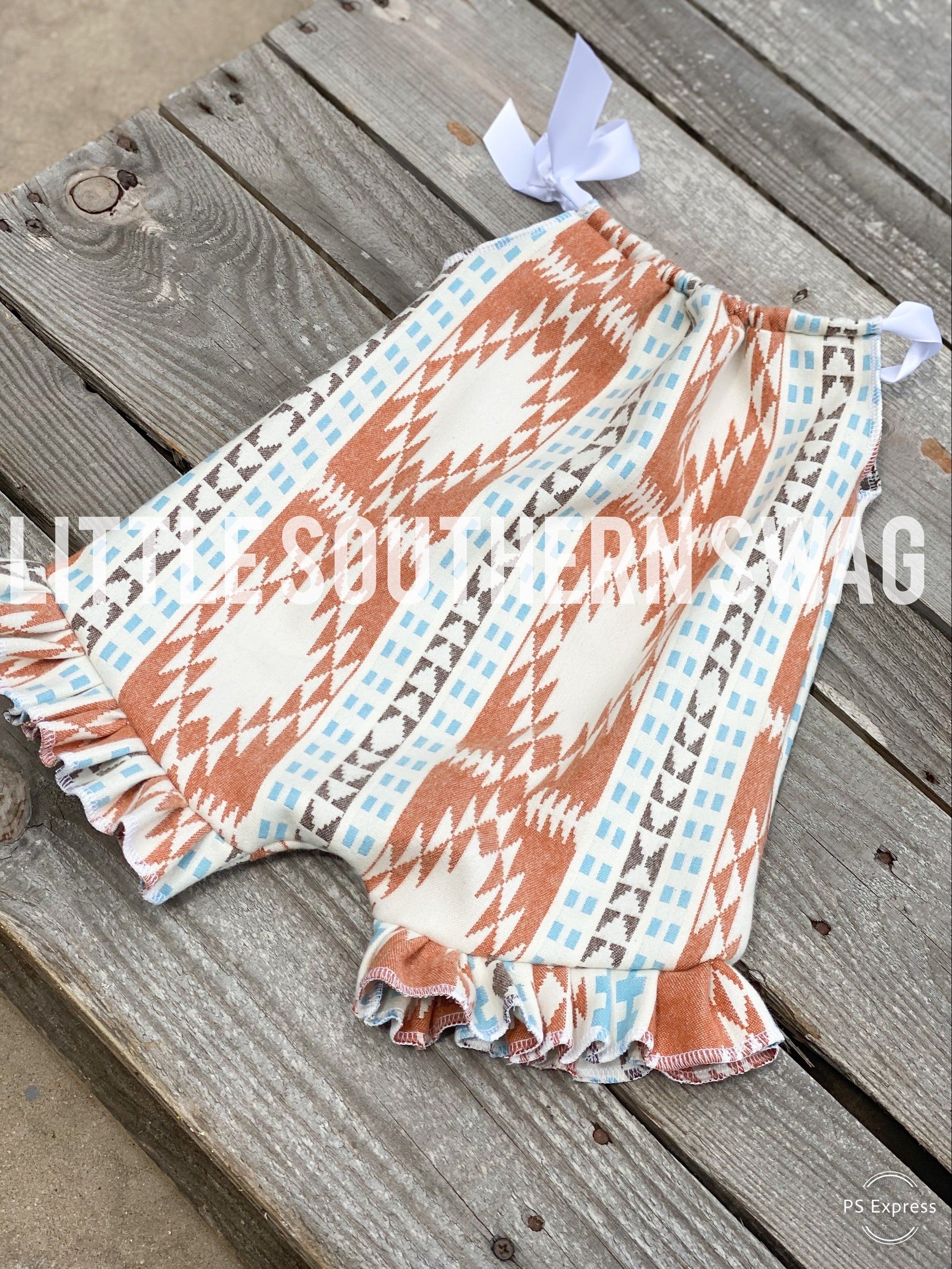 Limited Fredricks Ruffled Romper - Little Southern Swag