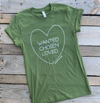 Adoption love adult shirt - Little Southern Swag