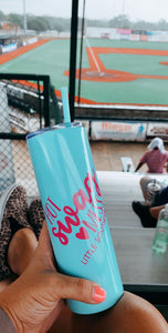 Sky Blue Hot Swag Mess 20 oz Tumbler