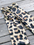 Big Cat Rescue Belted Palazzos