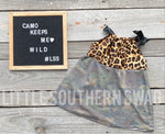 Wild Camo Top - Little Southern Swag