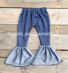 Blue Jean Jegging Bells - Little Southern Swag