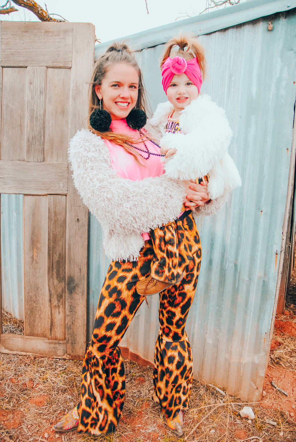 I Wanna Leopard Momma Bells - Little Southern Swag
