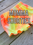 Ribbed Neon Momma Shorties