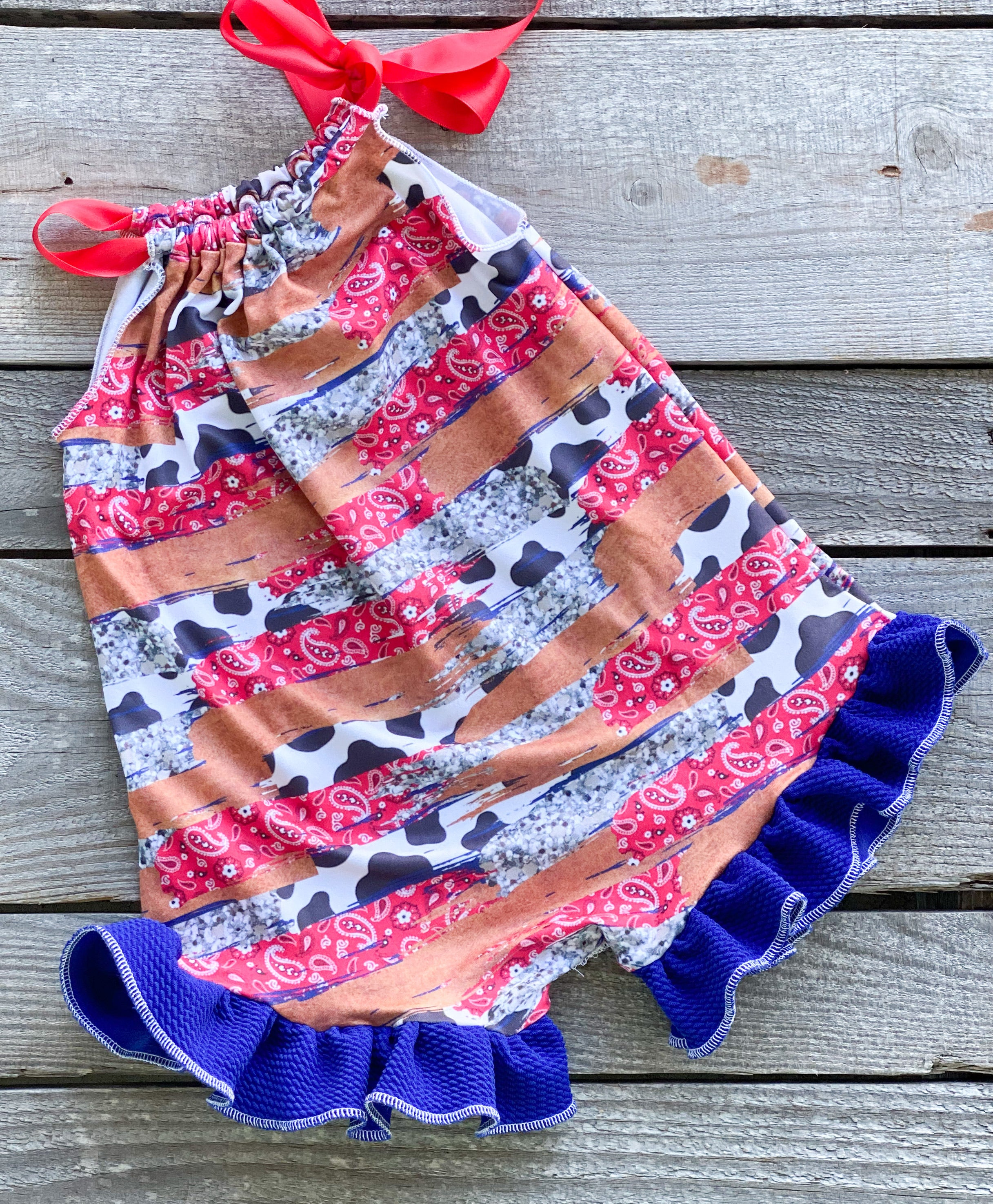 Punchy Cowgirl Romper